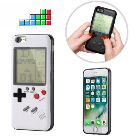 Classics Handheld Game Player Phone Protection Case For iPhone X 6 6s 7 7Plus 8 8Plus