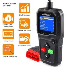 Full OBD2/EOBD Vehicle Engine Fault Scanners With Extra BAT Check