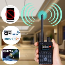 Super RF detector for hidden wireless camera, mobile phone signal, Bluetooth/ WiFi/ GPS etc.