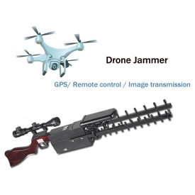 UAV shield, Drone jammer, rifle style, 1.5G/ 2.4G/ 5.8GHz