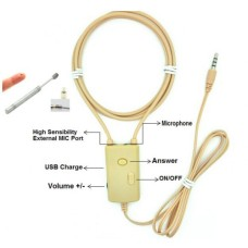 3 watt amplified audio neckloop with magnetic earpiece, 3.5mm plug