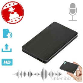 Mini Spy Audio Recorder Voice Activated Listening Device 96 Hrs 8GB Bug