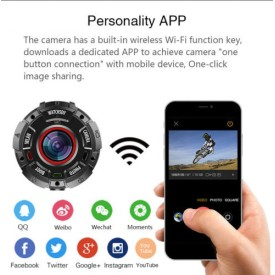 IP68 wifi waterproof sport watch 1080P Remote viewing Low illumination swim spy