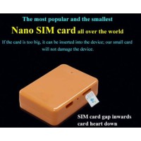 New Nano SIM Card GSM BOX with Hidden In Ear wireless earpiece spy kit