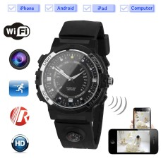Outdoor WiFi camera watch